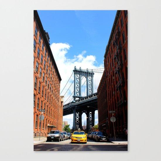 That Brooklyn View - The Empire Peek Canvas Print