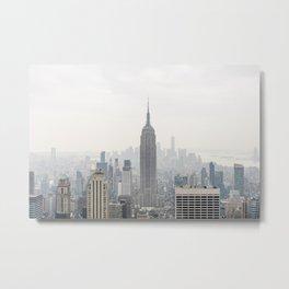 Empire State Building New York City, USA - Travel Photography | Framed Art Print | fine art wall print | Cityscape Metal Print