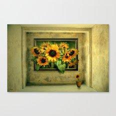 Der Sonnenblumenraum Canvas Print