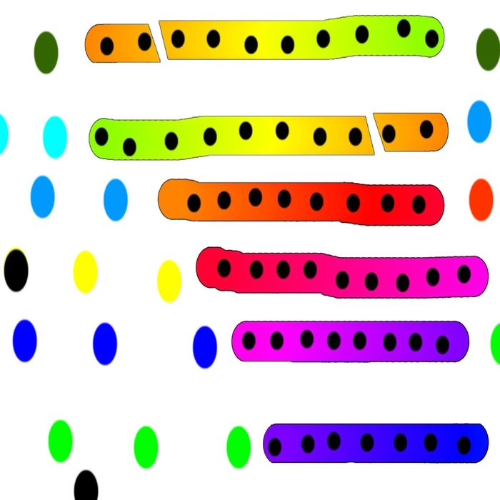 Rainbow 21 Leggings