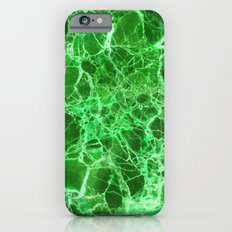 Emerald green marble iPhone 6 Slim Case