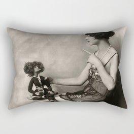 Naughty Dolly Rectangular Pillow