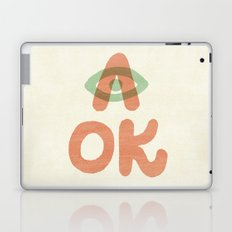 A OK Laptop & iPad Skin