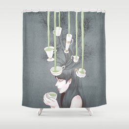 Tea Tree Shower Curtain