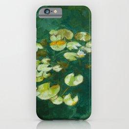 Serene Lotus Pond iPhone Case