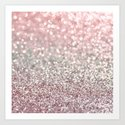 Girly Pink Snowfall by lisaargyropoulos