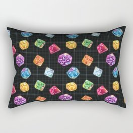 Dungeon Master Dice Rectangular Pillow
