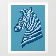 SEAbra Art Print