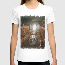 Grand Central Terminal in Digital Oils T-shirt