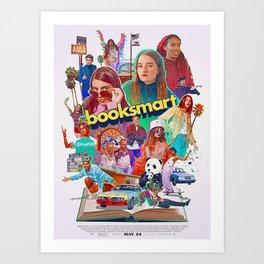 booksmart the movie Art Print