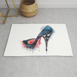 Eiffel Tower Shoe Rug