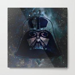 Lord Vader Galaxy Metal Print