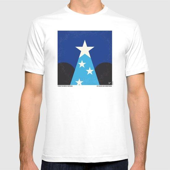 No242 My Fantasia minimal movie poster T-shirt