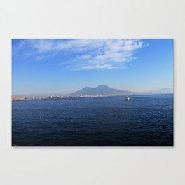 Vesuvio, Naples Canvas Print
