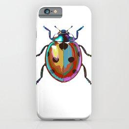 Colored Ladybug iPhone Case