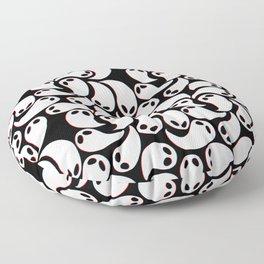 3D Ghosties Floor Pillow