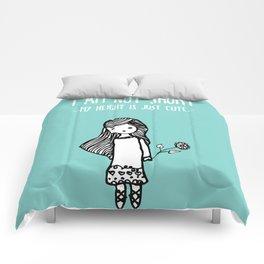 I am not short Comforters