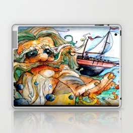 Old Man & The Sea  Laptop & iPad Skin