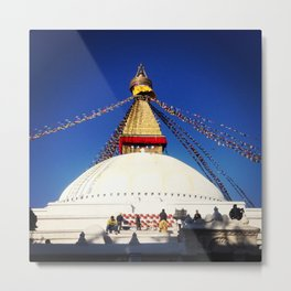 Buddha's Blessings Metal Print
