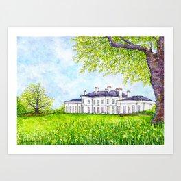 Hylands House, Chelmsford Art Print