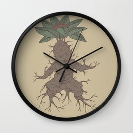 Mandragora Wall Clock