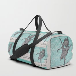 Dancer words Duffle Bag