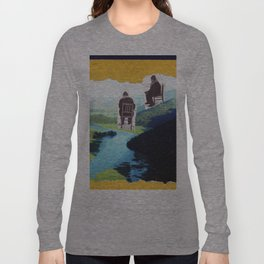 Vintage photo collage #218 Long Sleeve T-shirt
