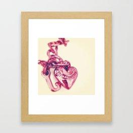 Heart of Juicy Framed Art Print