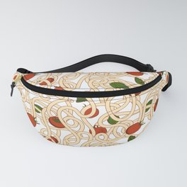 Spaghetti with tomato Fanny Pack