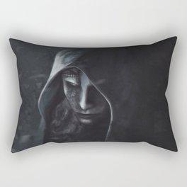 Don't mess with me Rectangular Pillow