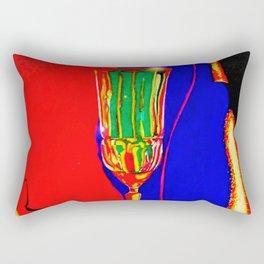 """Infrared Evenings"" Rectangular Pillow"