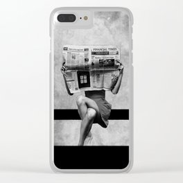 Simplicity... Clear iPhone Case