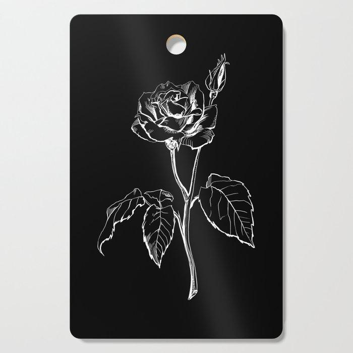 Black Rose Cutting Board