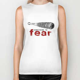 Negan Lucile - Something to fear - Pop Culture Biker Tank