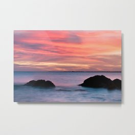 Natural Watercolors Metal Print