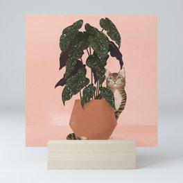 tiger at heart Mini Art Print
