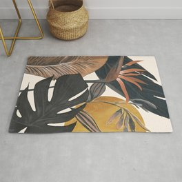 Abstract Tropical Art III Rug