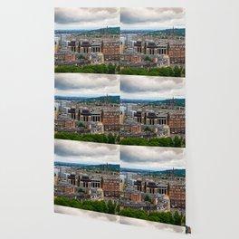 Panoramic of Edinburgh Wallpaper