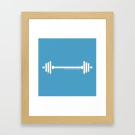 I pick things up and put them down Framed Art Print