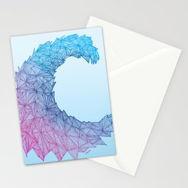 Crystal Wave Stationery Cards