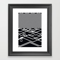 defragmentation Framed Art Print