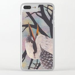Laugh, Kookaburra Clear iPhone Case