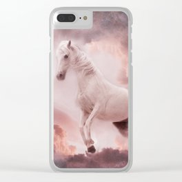 Through the clouds Clear iPhone Case