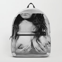 Asian girl Backpack