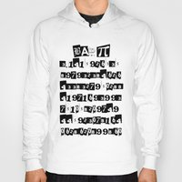 pi Hoodies featuring Bad Pi by mailboxdisco