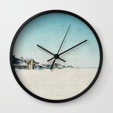 Life On The Beach Wall Clock