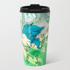 Starring Sonic and Miles 'Tails' Prower (Blue Version) Travel Mug