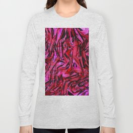 red flow Long Sleeve T-shirt