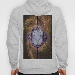 Vintage Timepiece In Space Hoody