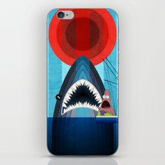 Gonna need a bigger boat iPhone & iPod Skin